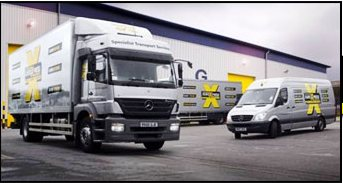 courier service hampshire fleet