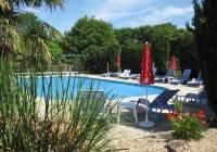 Courte Vallee heated pool