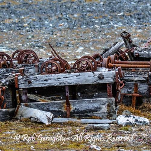 Rusty Wheels by Rob Geraghty