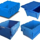 Attached Lidded Crates / Totes