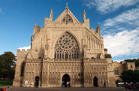 Don't confuse barcelona cathedral with la sagrada família. Devon's Heart and Soul: Exeter Cathedral   EuroCheapo