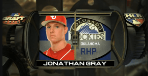 Rockies Jonathan Gray First Round 3 Pick