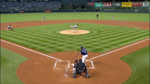 Charlie Blackmon First HR vs Giants