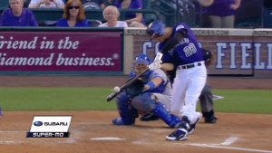 Nolan Arenado Two-Run HR vs Dodgers