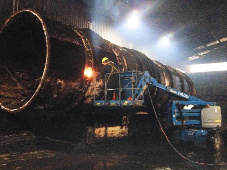 screening barrell decommission