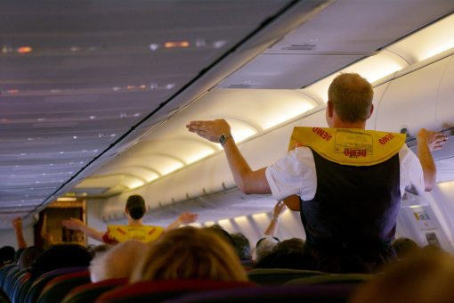 regras dos comissarios de bordo