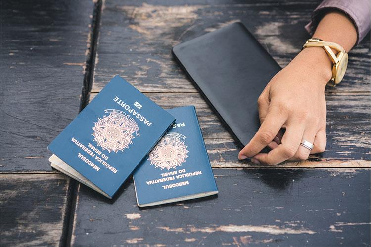 passaporte brasileiro de emergência
