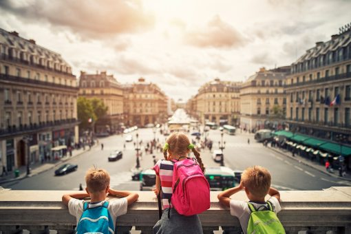 morar na França com filhos