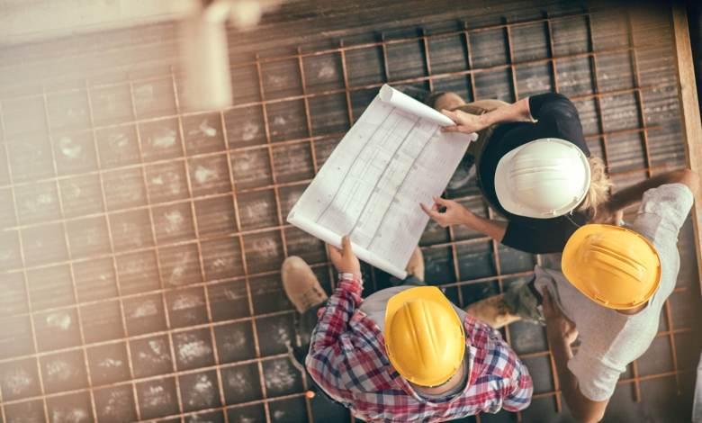 construção civil em Portugal