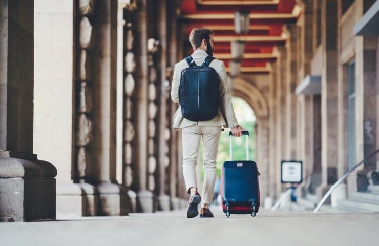 Mochila ou mala para viagem