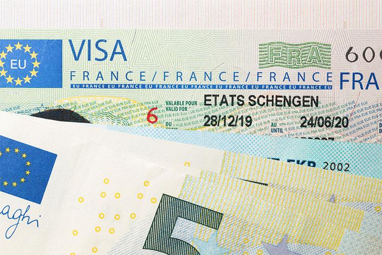 tipos de visto para a França