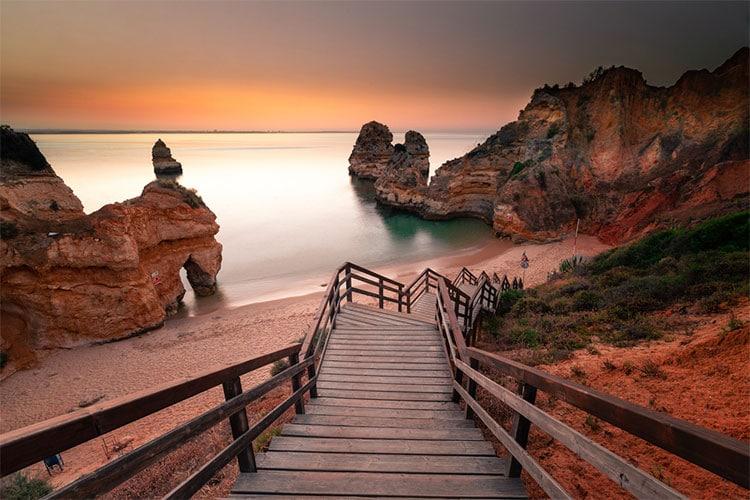 viajar para o Algarve em Portugal