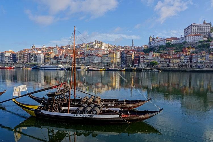 viajar para o Porto