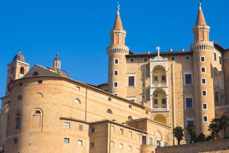 Urbino na Itália