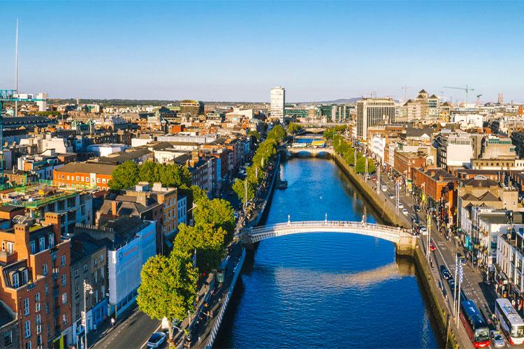 Ponte Hapenny em Dublin