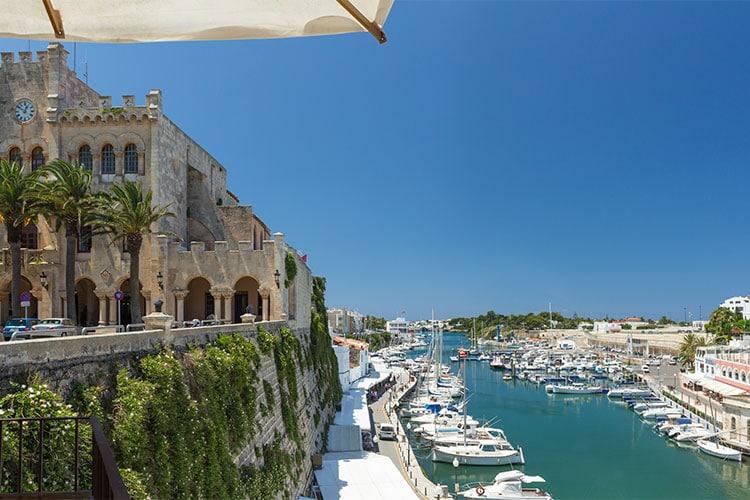 viajar pela Espanha Menorca