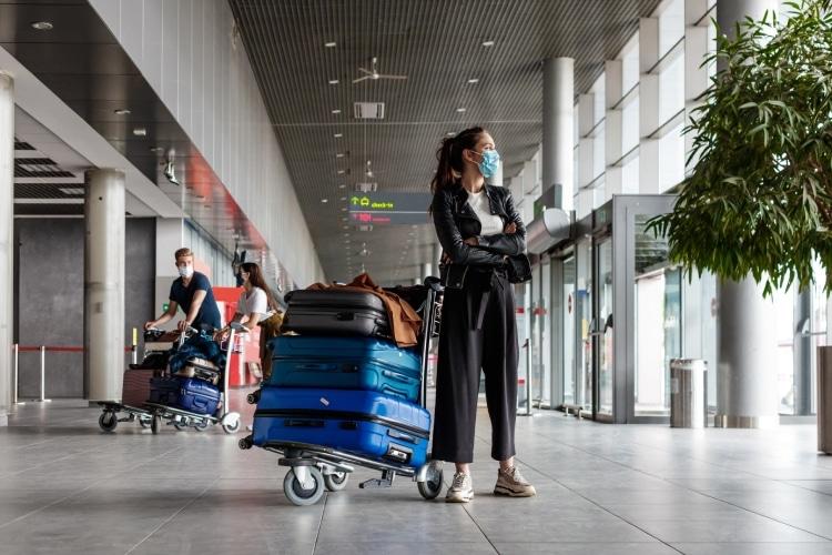 Desembarque aeroporto Portugal