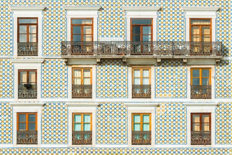 Fachada apartamento em Lisboa