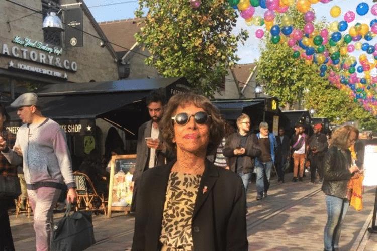 Marcia Camargos jornalista aposentada