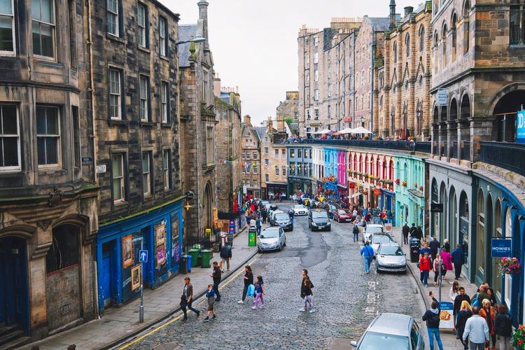 Morar na Escócia Edimburgo