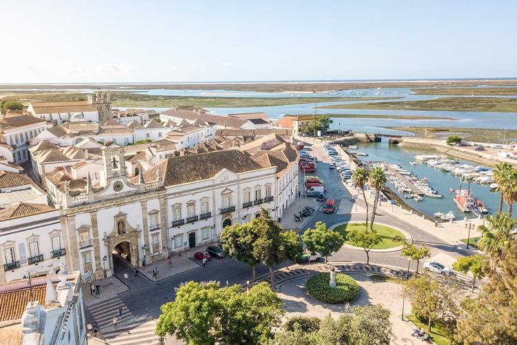 Ria Formosa vista de Faro