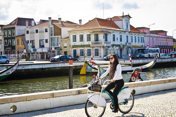 Mariele Velloso bicicleta Aveiro