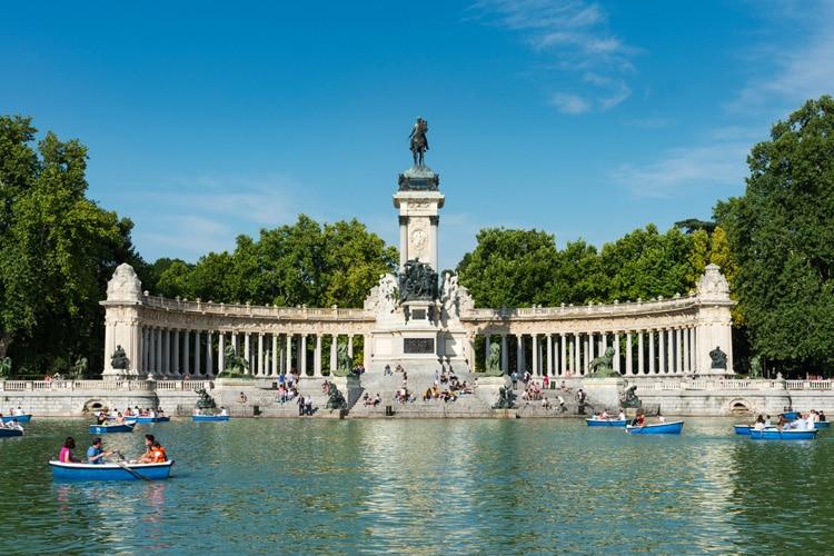 Parque do Retiro - melhores bairros de Madrid