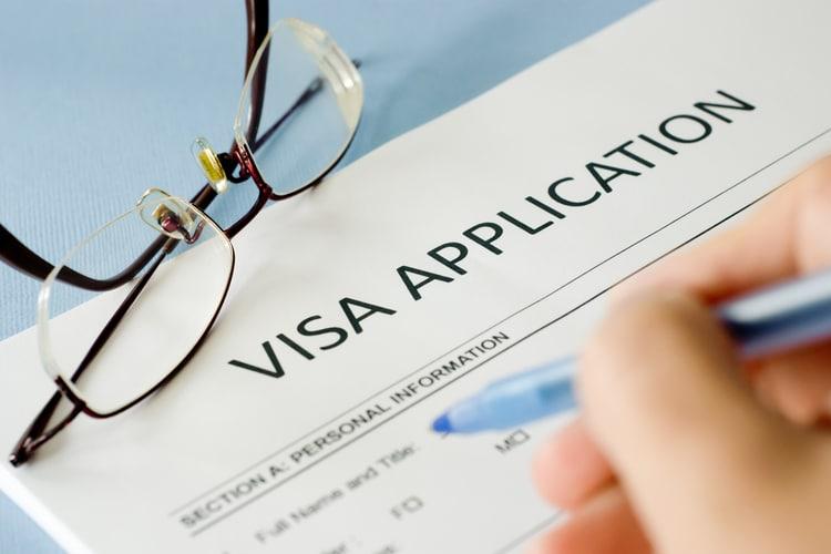pedido de visto para Inglaterra