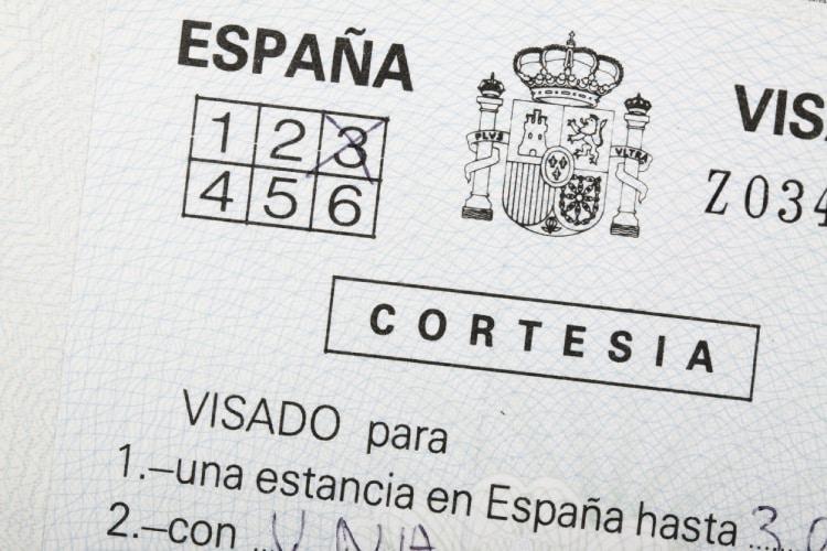 Visto para Espanha