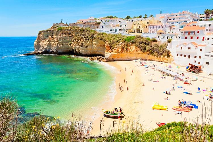 Carvoeiro, vila do Algarve
