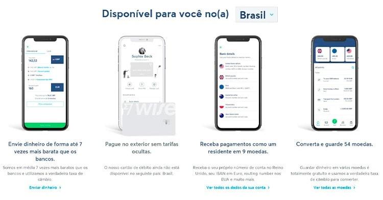 conta Wise no Brasil