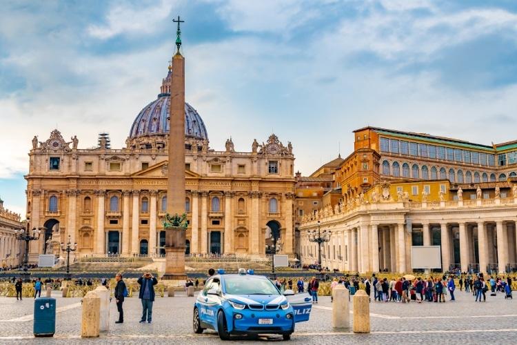 Polícia em Roma