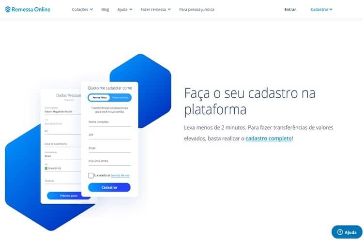 Remessa Online vale a pena cadastro