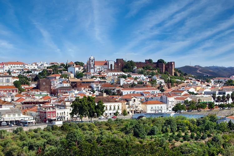 Silves, cidade no Algarve rural