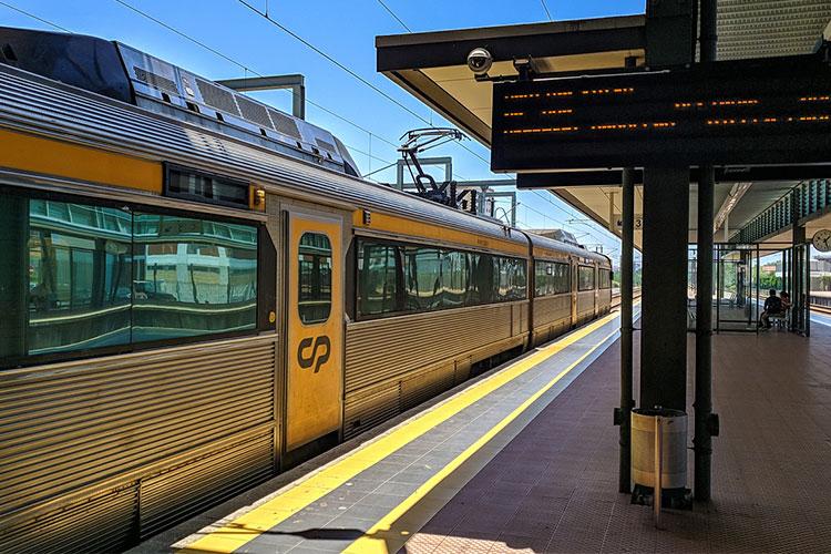 transporte público intercidades em Portugal