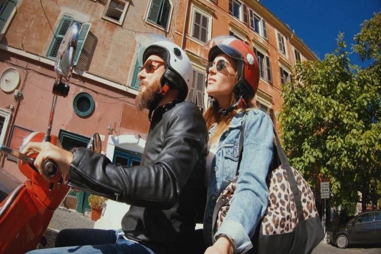 Carteira de moto na Itália