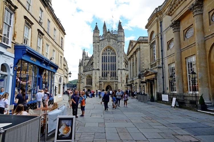 Bath e uma das melhores cidades da Inglaterra
