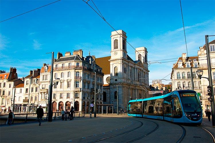 cidade com baixo custo Besançon