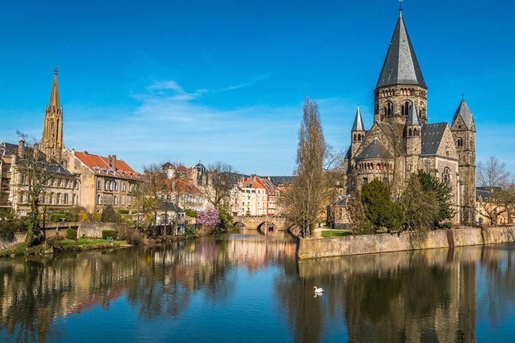 custo baixo de vida em Metz
