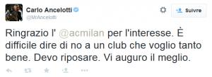 tweet ancelotti