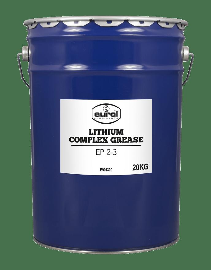 Eurol Lithium Complex Grease EP 2/3 Арт. E901300-20KG