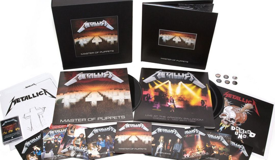 Metallica lanza una caja deluxe de 'Master of Puppets