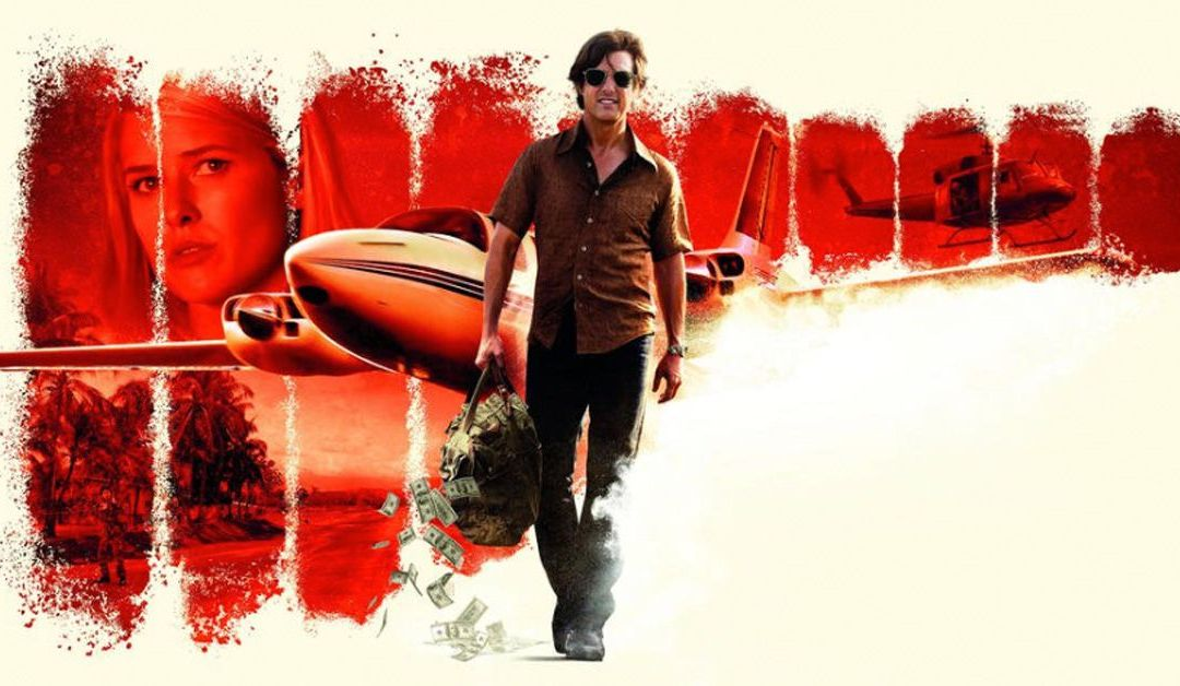 Tom Cruise transforma al narco de la CIA, Barry Seal, en un payaso