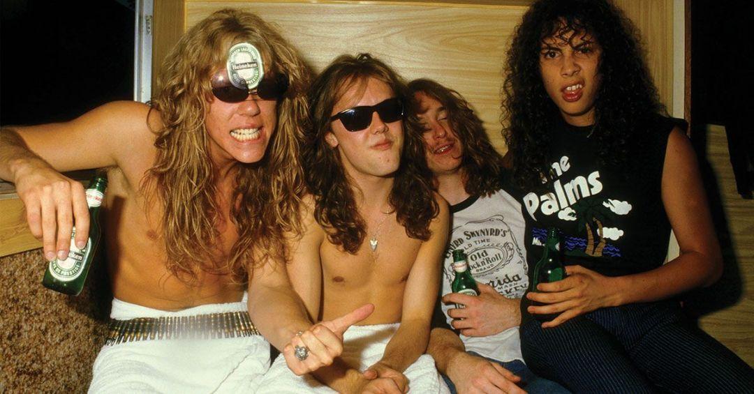 Metallica Paris 1984
