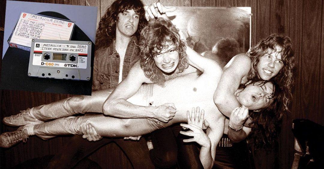 cassette Demo / Metallica con Mustaine