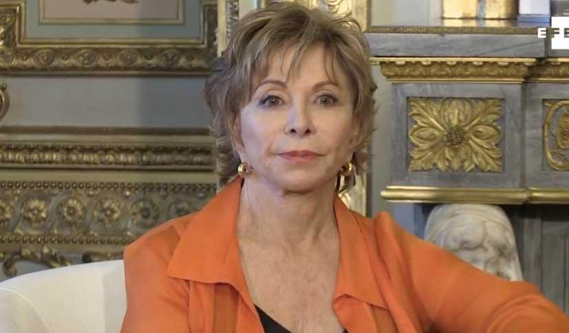 Isabel Allende y 'Largo pétalo de mar': he sido una extranjera toda mi vida