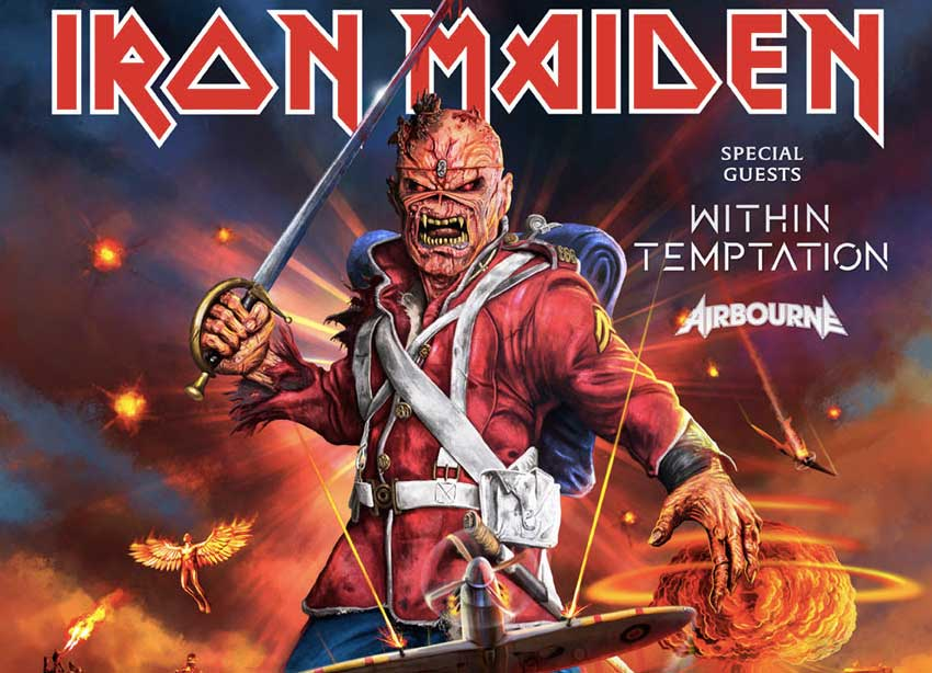 Iron Maiden 2020 tour Europa