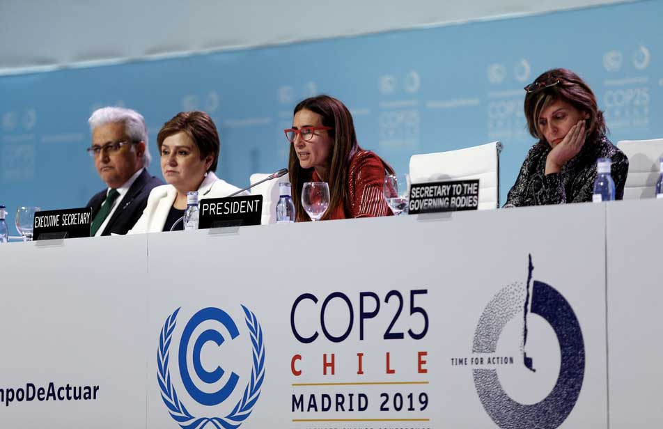 COP25 Madrid Chile