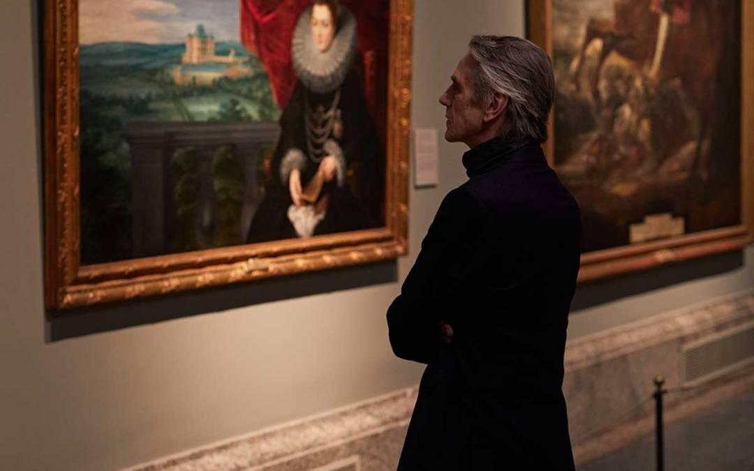 """Jeremy Irons presentó 'Pintores y Reyes del Prado': """"Quiero interpretar a Goya"""""""
