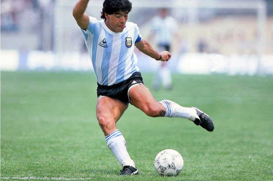 6 canciones dedicadas a Diego Maradona